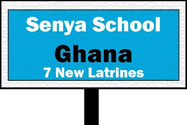 Senya Secondary School (Latrine Project)