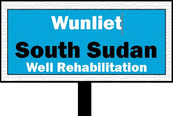 Wunliet Village, South Sudan