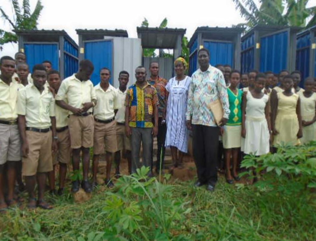 Senya Secondary School Latrine Project